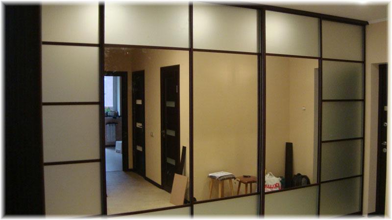 Встроенные шкафы  дизайн 118