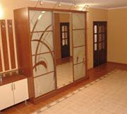 рисунки на зеркалах дверей купе №1