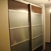 пример дверей купе со стеклом №1